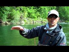 ▶ Streamer Fishing on a Floating Line While Wading - YouTube