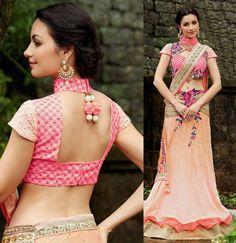 Designer Lehenga Style Saree
