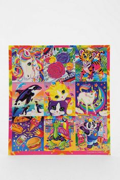 O M G. Lisa Frank partnered with UO to put together a special, custom-made collection of vintage designs, all newly compiled and organized. Get to sticking! #urbanoutfitters