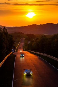 Aston Martin - Nürburgring Sunset - what is your dream track or road to drive on?