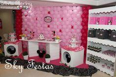 Sky Festas: Festa da Minnie Rosa