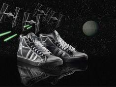 Adidas Originals' TIE Fighter sneakers.