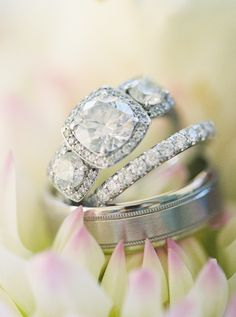 Oh my goodness! another Stunning Engagement Ring! See the lucky lady who wears it on SMP: http://www.StyleMePretty.com/southeast-weddings/2014/02/06/romantic-wedding-in-historic-st-augustine/ Jennifer Blair Photography