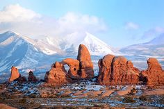 Best Natural Beauty: Arches National Park, Moab, Utah