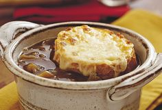 French Onion Soup! IN THE CROCK POT!