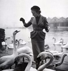 Fashion photo by Toni Frissell, Harper's Bazaar, July 1951