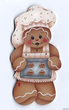 painted gingerbread men, gingerbread cuti, gingerbread man, ginger baker