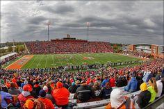 BGSU's Doyt L. Perry Stadium  Photo courtesy of Keith O'Neill