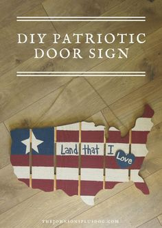 DIY Patriotic Door S