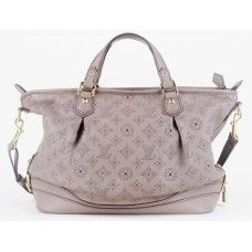#LouisVuitton Stellar PM Poudre Mahina Leather Bag | Used Louis Vuitton Leather Purse
