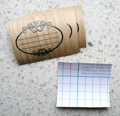 print onto contact paper for easy labels, cards, jars etc