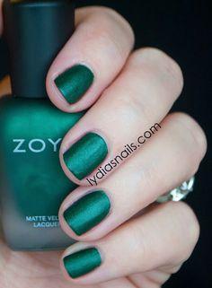 Lydia's Nails: Zoya MatteVelvet Veruschka