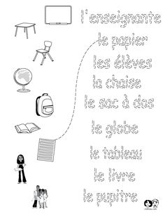 school worksheets french