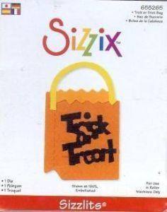 Sizzix Sizzlits TRICK OR TREAT BAG