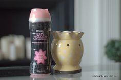 Make your house smell fresh with Downy Unstopables in a wax warmer