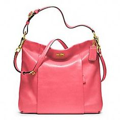 MADISON LEATHER ISABELLE #coach