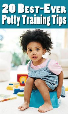 Trust us: we know these potty training top tips work! Parents.com readers swear by each and every one.  http://www.parents.com/toddlers-preschoolers/potty-training/tips/potty-training-tips/?socsrc=pmmpin130222pttPottyTraining