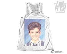 Justin Timberlake Middle School Tank   26 Things On Etsy You Need To Buy Right Now