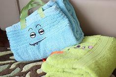 Great kid gift idea - handled towel