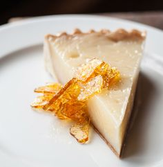 This vinegar #pie at #Underbelly is just one of many suggestions from Chef Chris Shepherd on where and what to eat around #Houston.