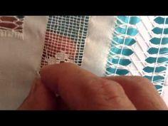 ▶ Deshilado: Rellenado Cuadritos que se hacen con la vainitas - YouTube