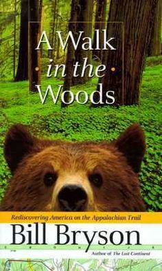 #UWBookMadness   A Walk in the Woods by Bill Bryson   Category: Glass Half Full   A middle aged, perhaps somewhat out of shape man, decides to hike the Appalachian Trail. No inner turmoil drives Bill Bryson's decision, there's no trauma to overcome, no ghosts to put to bed. He simply felt an urge to hike the longest trail in US and attempted it. Bryson is funny for nearly every mile of this epic hike, offering observations on the state of American trails and more.