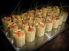Birthday Party Blog: Mini Appetizers ~ Shot Glass Snacks