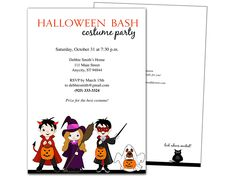 masquarade halloween party invitation template