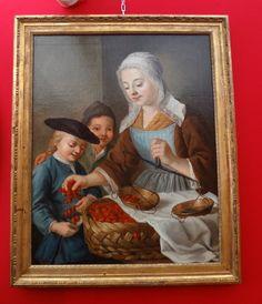 18th century cherry seller