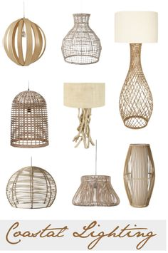 Coastal Lighting on Pinterest