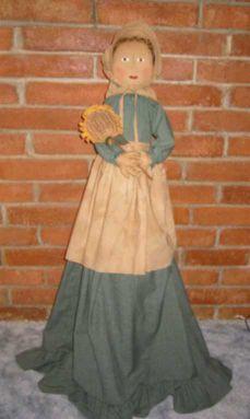 Prairie Doll Vacuum Cover Pattern PM $6.00