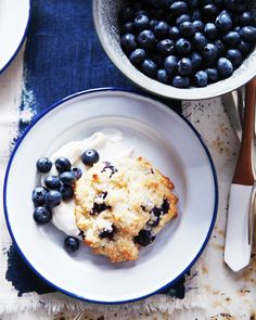 Berry Shortcakes With Whipped Cream Cheese // Fourth of July Recipes