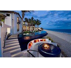 Beach front living