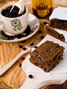 Vegan Chocolate Coffee Cake ... just make sure to use MSPI-friendly chocolate!