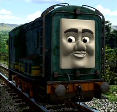 Paxton the Diesel from THOMAS THE TRAIN