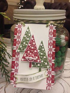 Handmade Christmas Tags, Stampin' Up!, Christmas