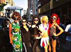 Bianca, Visage, Ben, Courtney, Adore... N.Y. Pride 2014
