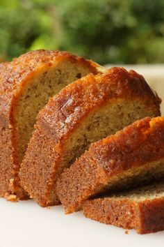 Banana Banana Bread Recipe....Just took this out of the oven. One of the better banana breads of made! Love banana dessert recipes, banana bread recipes, banana recipes, breads recipes, banana brown sugar, brown sugar banana bread, bread dessert, banana desserts recipes, banana banana bread
