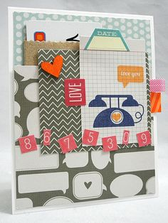 Spotted and admired! 2, 4, 6, 8. We sure love this card we spotted on Jennifer's blog! Love how she used Pucker Up! High 5, Jingle!