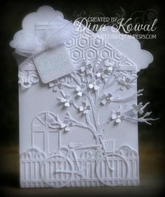 whiter scene, dini stamperia, shades, white card, whiter shade, card play, mama dini, homes, paper crafts