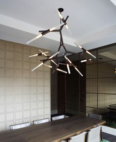 Chandelier on pinterest chandeliers crystal chandeliers and dining - Lindsey adelman chandelier knock off ...