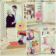 Smashbook page ideas www.thehouseofsmiths.com #smashbooking