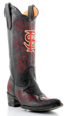 Womens Seminoles boots- why don't I already own these?!?