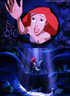 Ariel has my favorite singing voice. It's so strong and emotional, just like her ;)