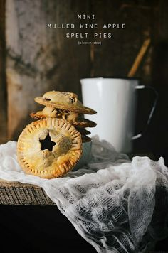 mini spelt pies with mulled wine by abrowntable