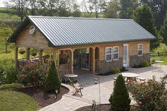 Pole Barn Interior Designs   Custom Buildings - Timberline Buildings