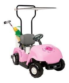 Take a look at this Pink Golf Cart Ride-On by Kid Motorz on #zulily today!
