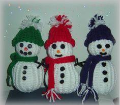loom knitting snowmen with wonder knitter scarves