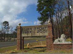 Ellen Trout Zoo in Lufkin