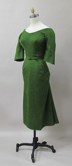 Charles a James a Mohair Dress, 1952-53